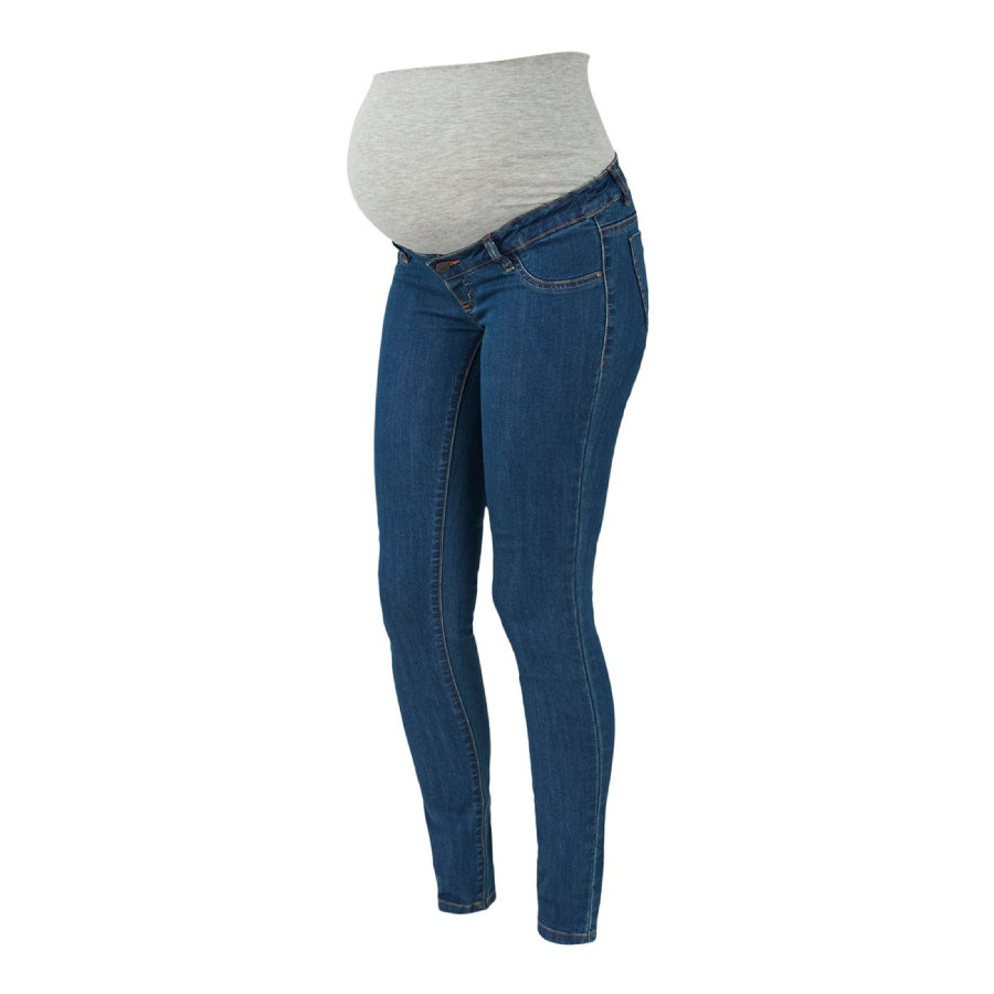 mama;licious Jeans de maternité MLJULIA Medium Blue Denim