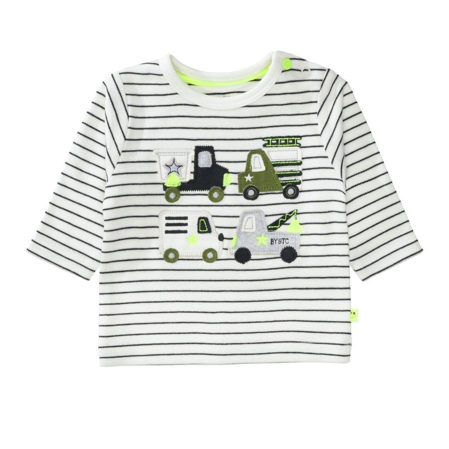 STACCATO  Jongens Shirt uit white gestreept