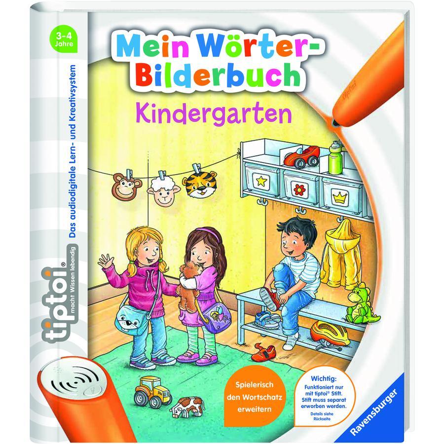 Ravensburger tiptoi® Mein Wörter-Bilderbuch Kindergarten