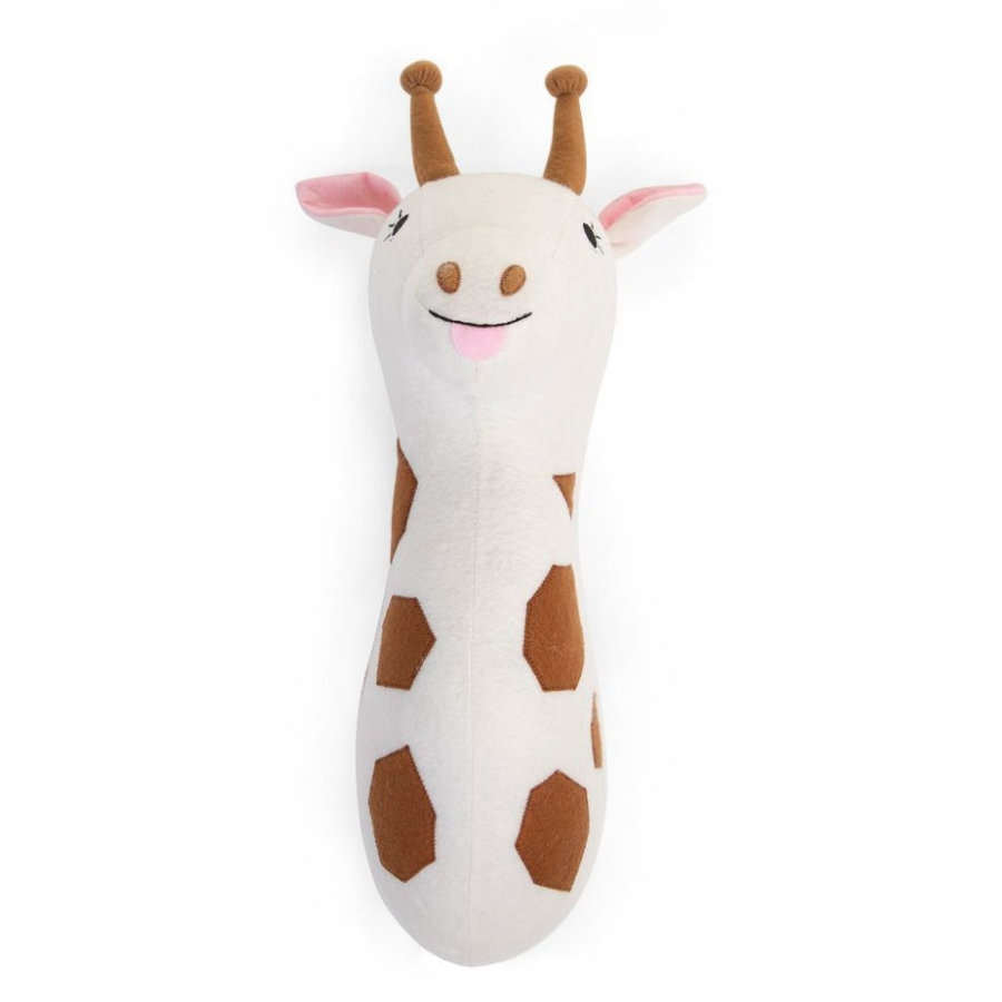 CHILDHOME Giraffenkopf aus Filz Wanddeko