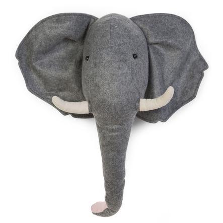 CHILDHOME Elefanthode av Flitz Veggdekorasjon