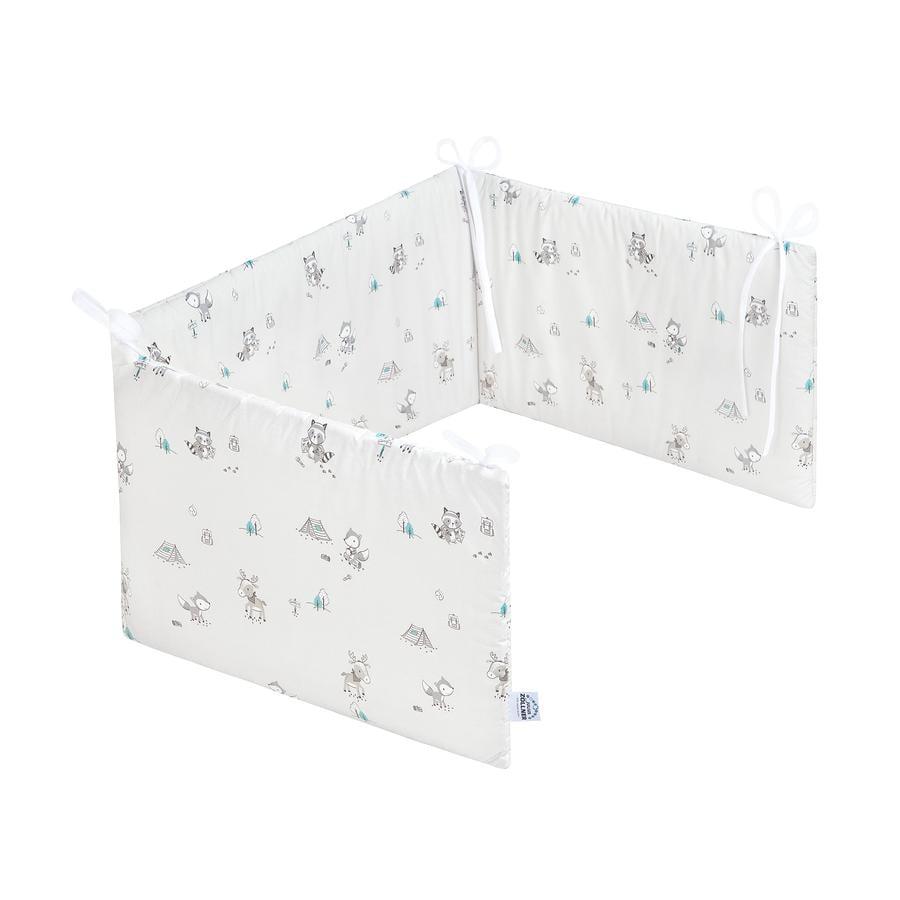 JULIUS ZÖLLNER Tour de lit enfant Comfort renard élan 180x35 cm