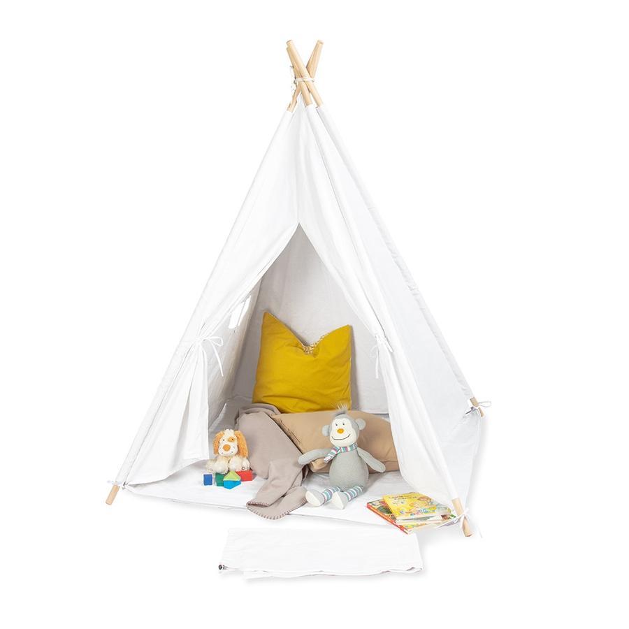 Pinolino Tipi Aponi-telt, hvidt