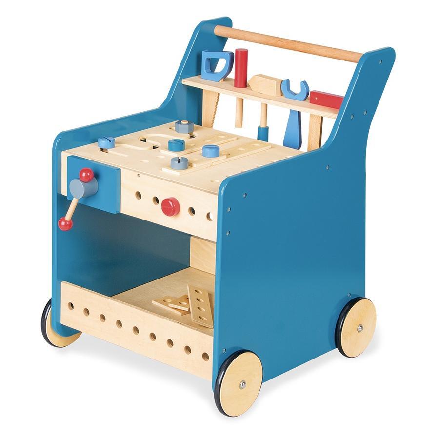 Pinolino Carro de herramientas Kalle, azul