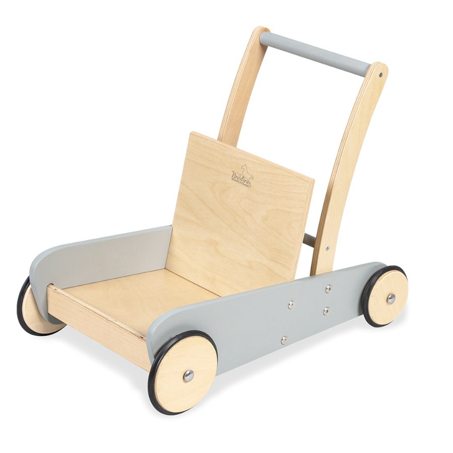 Pinolino Loopwagen Mats grijs