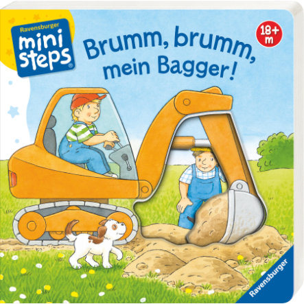 Ravensburger ministeps® Brumm, brumm, mein Bagger!