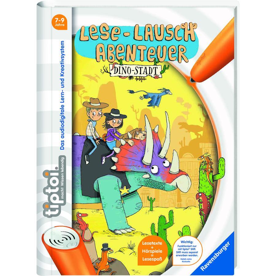 RAVENSBURGER tiptoi® Lese-Lausch-Abenteuer: Dino-Stadt