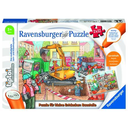 Ravensburger tiptoi® Puzzle für kleine Entdecker: Baustelle