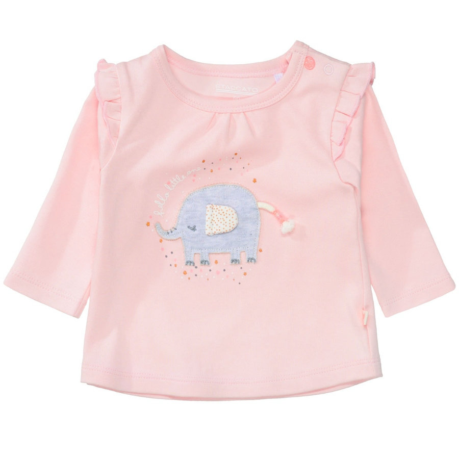 STACCATO  Girls Camisa rosa suave
