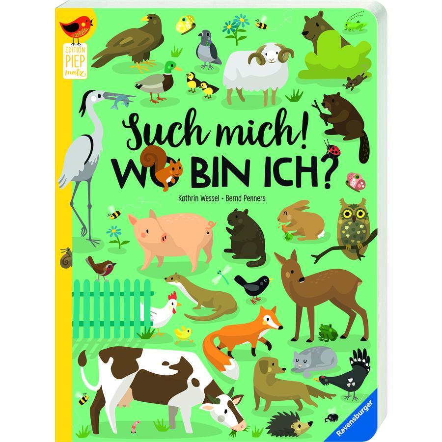 Ravensburger Edition Piepmatz - Such mich! Wo bin ich?