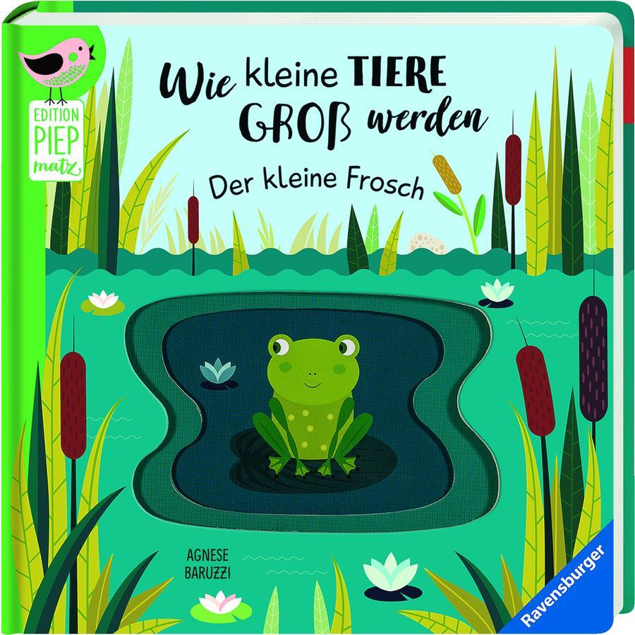 Ravensburger Edition Piepmatz - Wie kleine Tiere groß werden: Der kleine Frosch