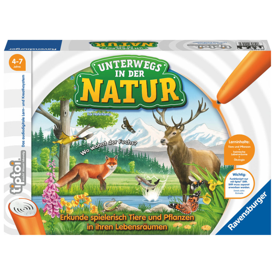 Ravensburger tiptoi® - In viaggio nella natura