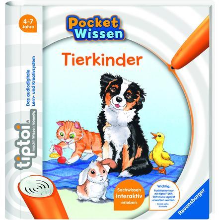 Ravensburger tiptoi® Pocket Wissen: Tierkinder