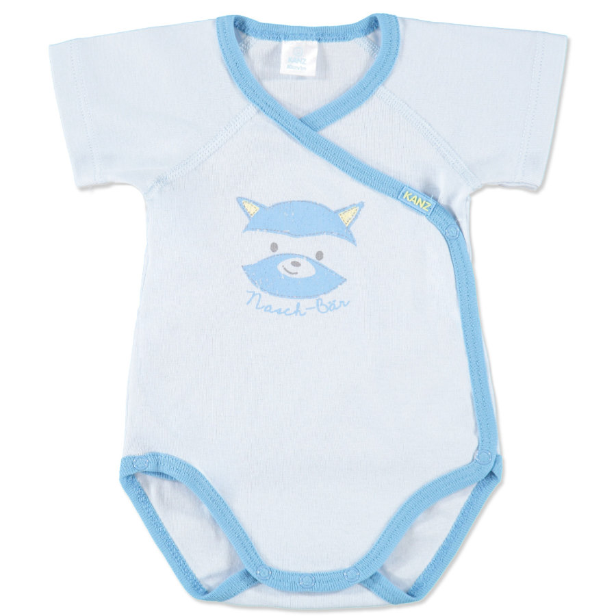 KANZ Boys Baby Wickelbody 1/1 Arm bright blue