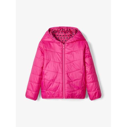 pojmenujte to Girls Jacket Nmfmumi fuchsia purple