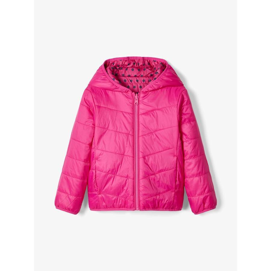 name it Girls Jacket Nmfmumi fuchsia purpur