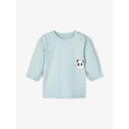 name it Jongens longsleeve shirt nbmtipol blauw sterling