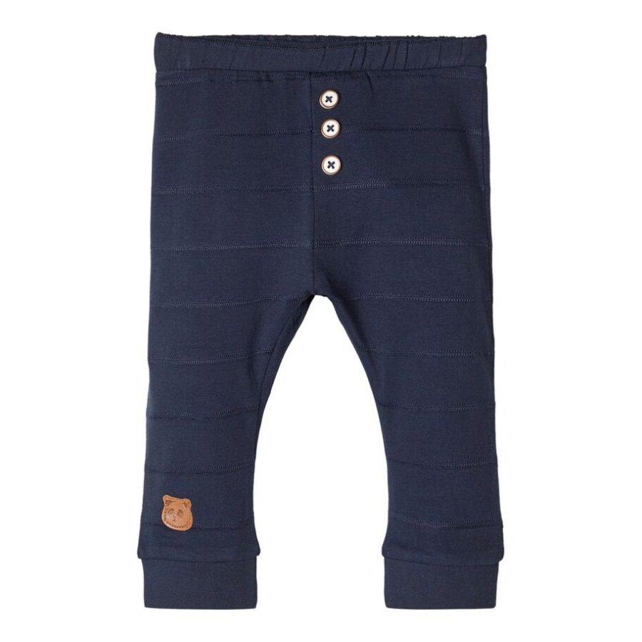 name it Ragazzi pantaloni della tuta Nbmtipol zaffiro scuro