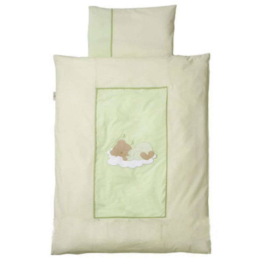 Easy Baby Linens 100x135cm  Sleeping bear Green(410-84)
