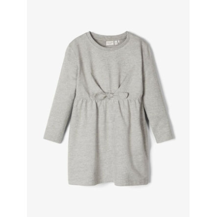name it Girls vestido Nmfvibs gris melange