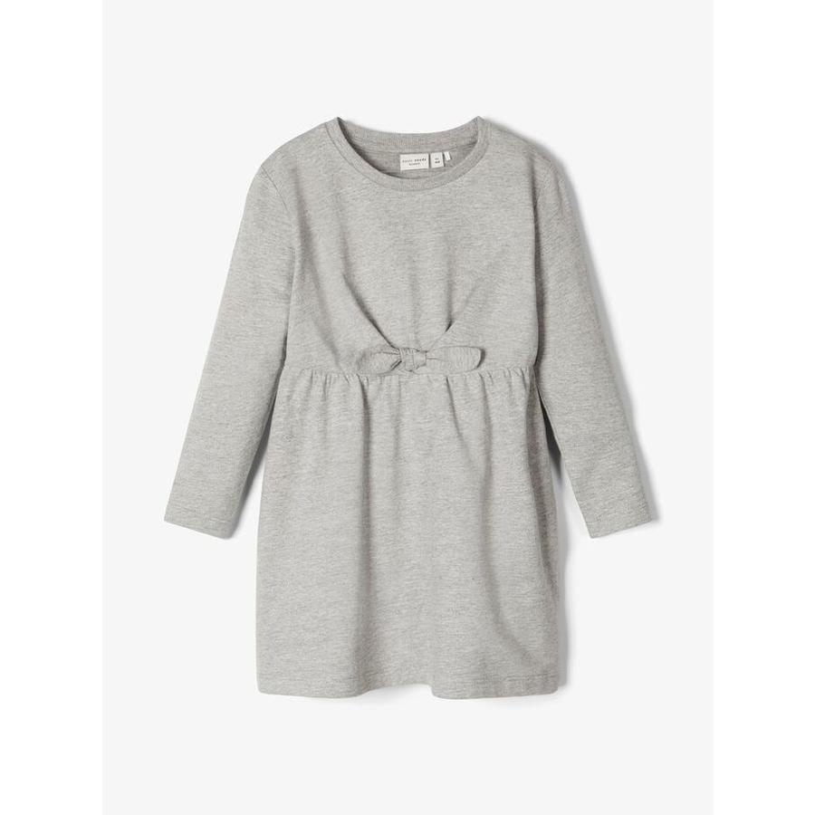 name it Girls robe Nmfvibs gris mélangé