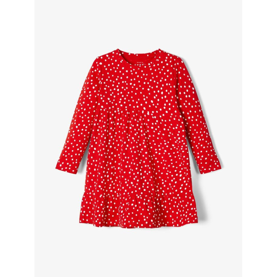 name it Girls Kleid Nmfvicky high risk red
