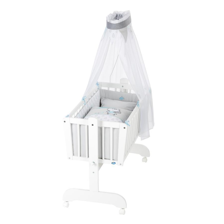 Alvi ® komplett vagga Sina vita regndroppar