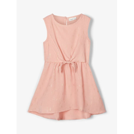 name it Girls Kleid Nbfritalina silver pink