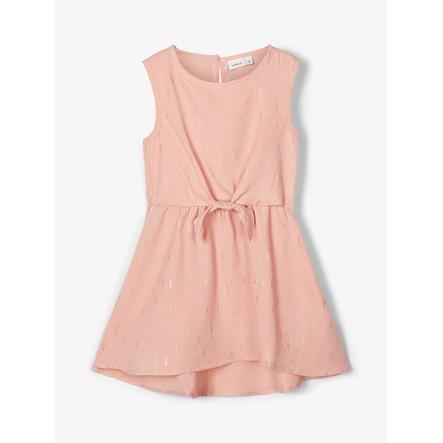 name it Piger kjole Nbfritalina sølvrosa