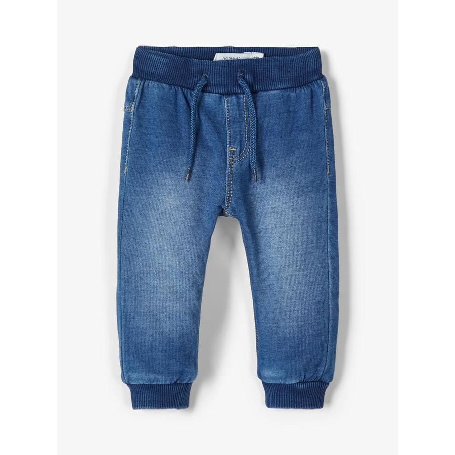 name it Boys Jeans Nbmromeo medoum niebieski denim