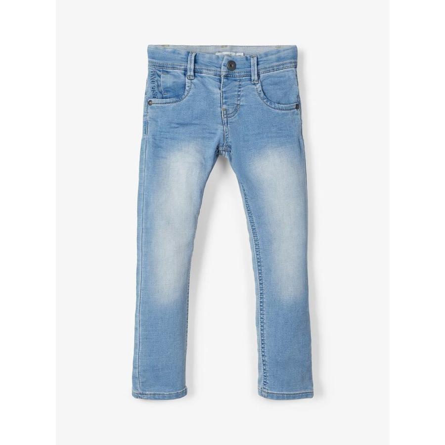 pojmenujte ho Jeans Nmfpolly středně modrý denim