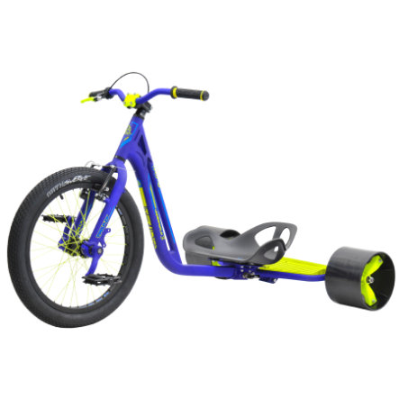 Driftwerk TRIAD Trike Underworld 3, blue/neon yellow