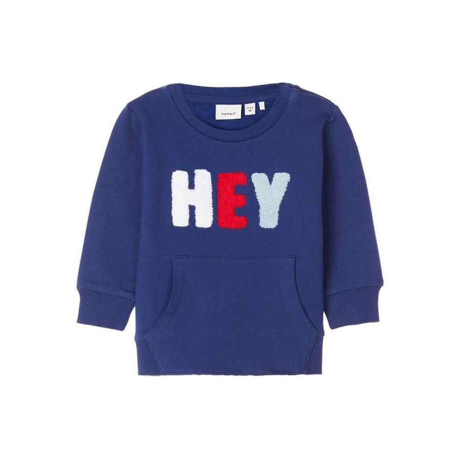 name it Boys Sweatshirt NBMLEIF blå dephts