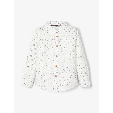 pojmenujte to Chlapecké tričko NMMRUNERO sněhově bílé