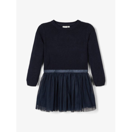 pojmenujte to Dívčí šaty Nmfralikka dark safír
