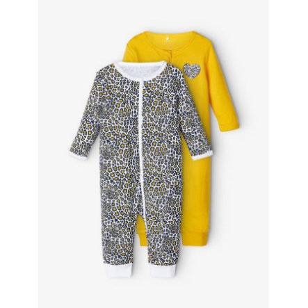 NAME IT Pyjama 2 pack kultainen sauva