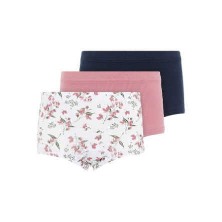 name it Girls Hipster 3-pack heather roos