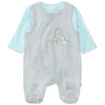 STACCATO Ensemble grenouillère et t-shirt enfant mélange gris clair