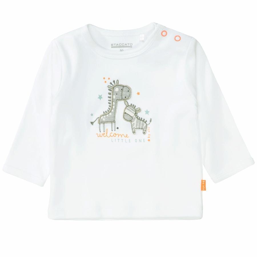 STACCATO Shirt soft türkis gestreift