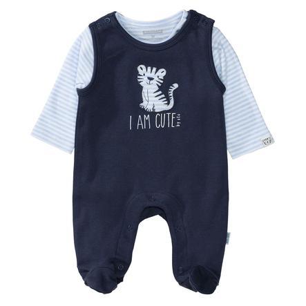 STACCATO Ensemble grenouillère et t-shirt enfant bleu marine