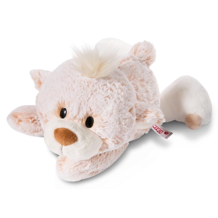 NICI luokan jääkarhu Pehmoleluvauvakarhu 30 cm, makaa 44477