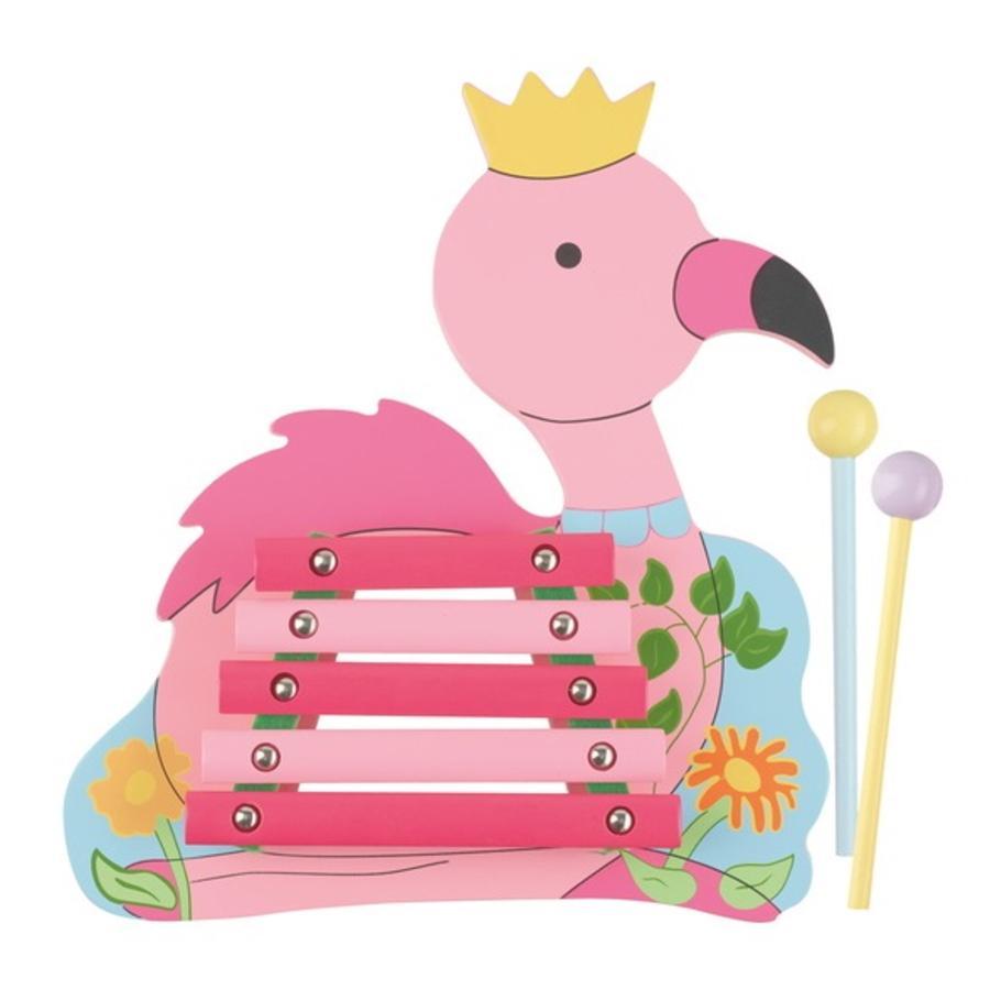 NICI Musikinstrument Xylophon Flamingo 46017