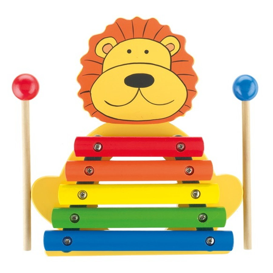 NICI Instrumento musical Xylophone Lion 46020