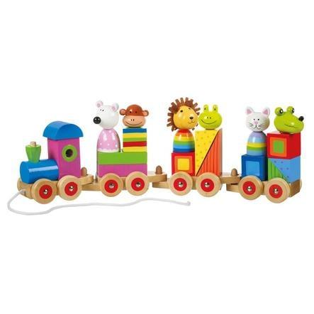 NICI Puzzle du train des animaux 46033