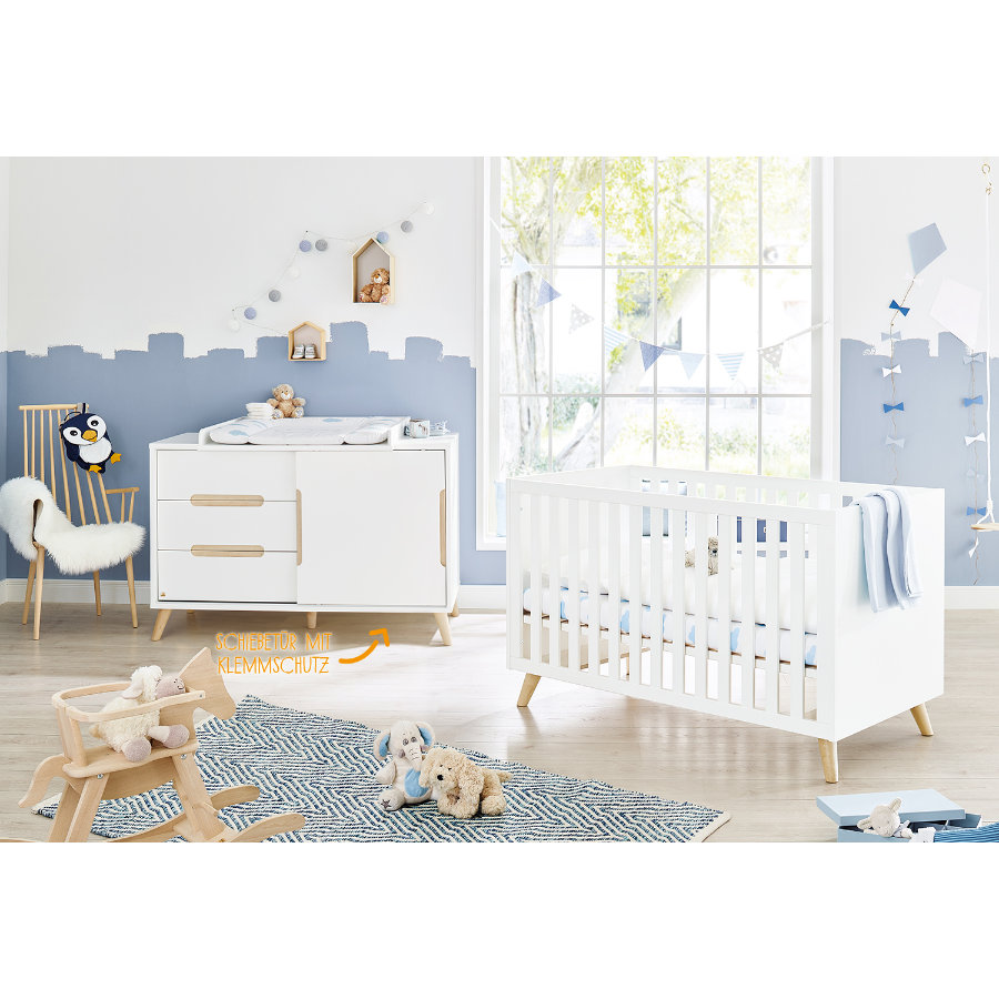 Pinolino Bed en commode Move extra breed