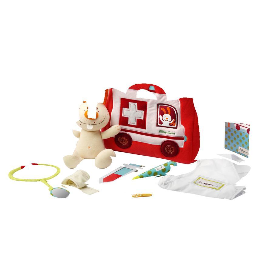 Lilliputiens Arzt Spielset mit Tasche und Zubehör