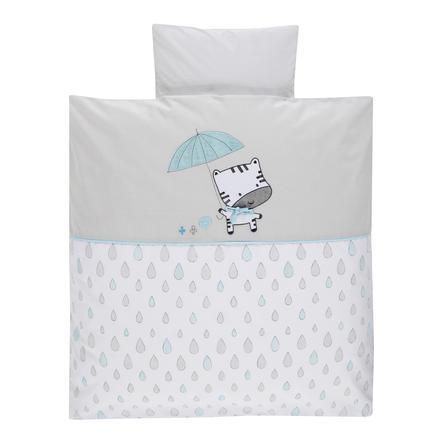 Alvi® Parure de lit enfant Raindrops 80x80 cm