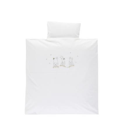 Alvi sengetøy 80 x 80 cm, bjørn på sving