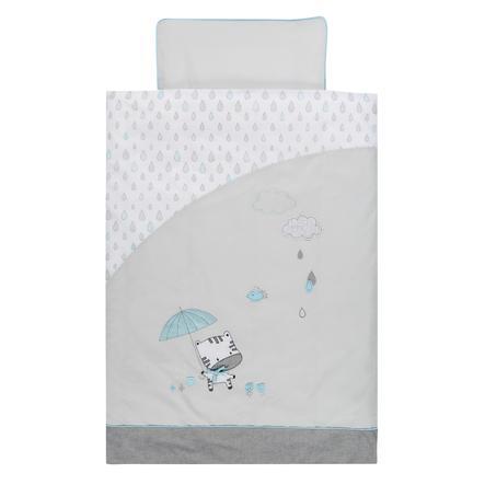 Povlečení Alvi 100 x 135 cm, dešťové kapky
