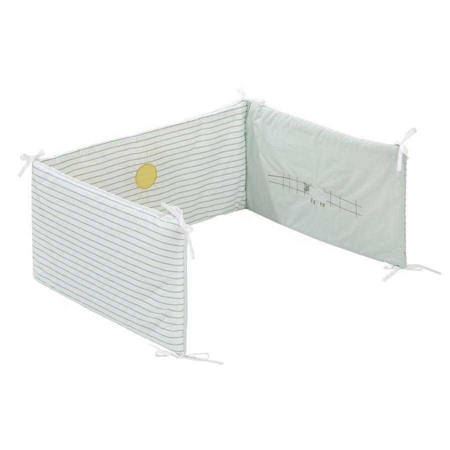 Alvi® Nestchen Stickerei Farm 180 cm